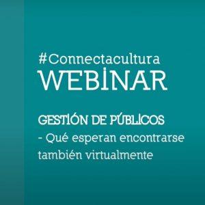 WEBINARS #CONNECTACULTURA